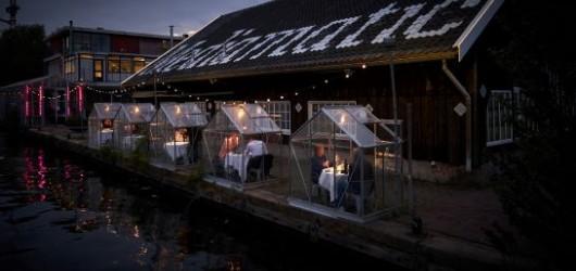 Glashusene & Restaurant Ofelia ved Skuespilhuset