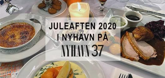 Juleaften 2020 i Nyhavn