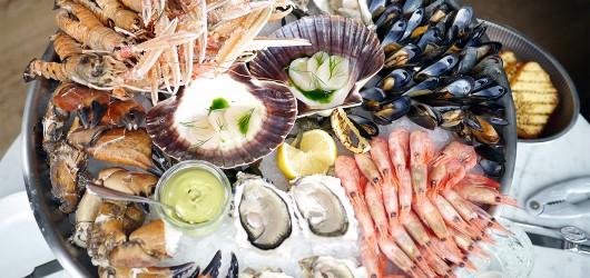 Nimb Brasseries store fiske- og skaldyrsfad