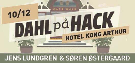 Jens Lundgren & Søren Østergaard på Hotel Kong Arthur