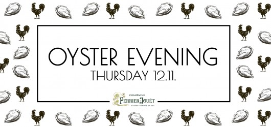 Oyster Evening 12.11.
