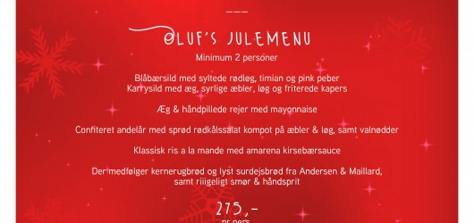 Julen på Olufs Taverna 2020