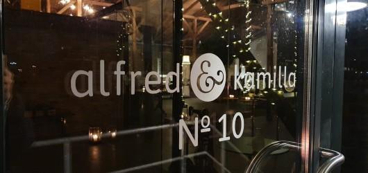 Alfred & Kamilla og NO. 10
