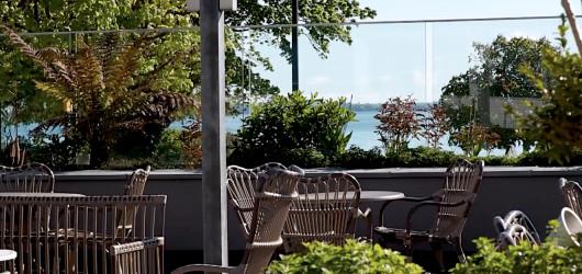 Marina's Café og Terrasse