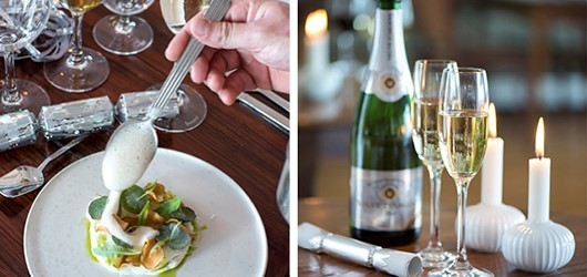 Take-away nytårsmenu fra Villa Dining